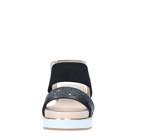 Gattinoni Roma Shoes Woman With wedge BLACK 0696