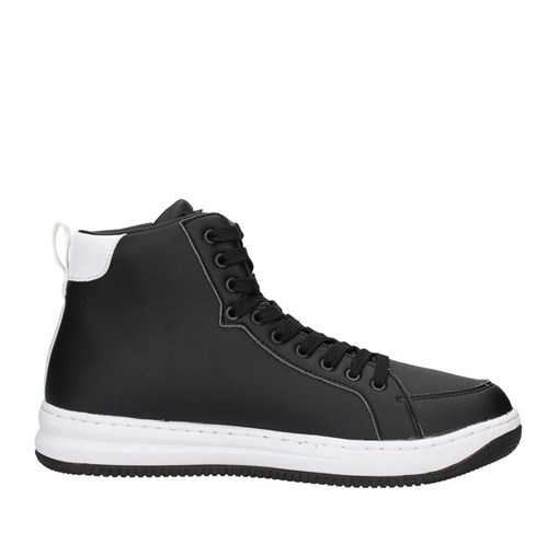 Ea7 Shoes Man low BLACK X8Z007