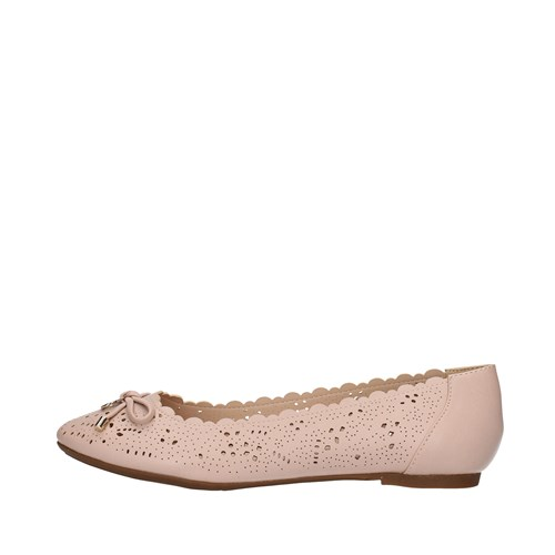 Gattinoni Roma Shoes Woman Dancers PINK PENGE0344WC