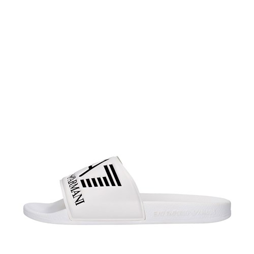 Ea7 Shoes Man slippers WHITE XCP001