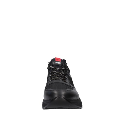 Nero Giardini Shoes Man low BLACK A901270U