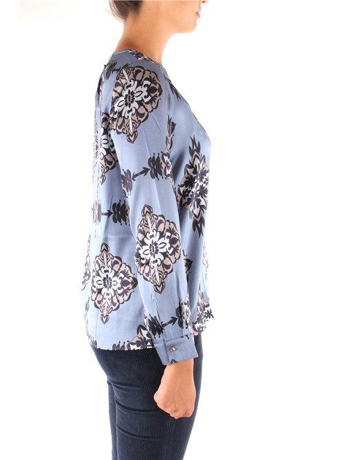 Niu' Clothing Woman Blouses BLUE AW19522T00