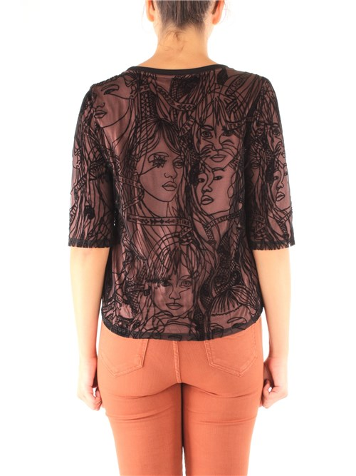 Desigual Clothing Women T-shirt BROWN 19WWTK33