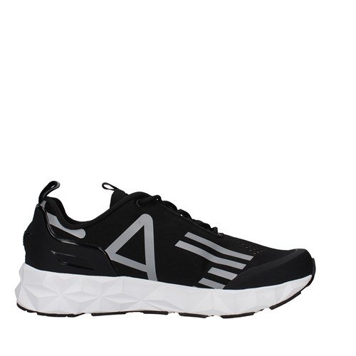 Ea7 Shoes Man low BLACK X8X033