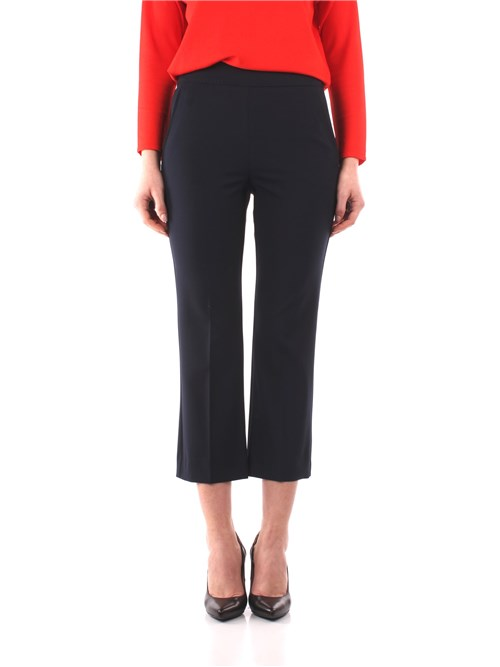 Marella Clothing Woman Cropped BLUE ROMA