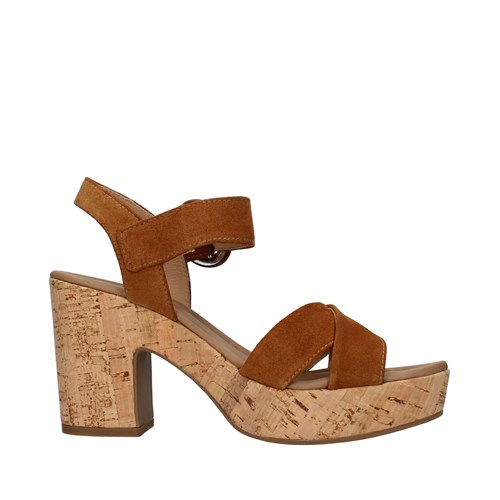 Nero Giardini Shoes Woman With heel BROWN E012420D
