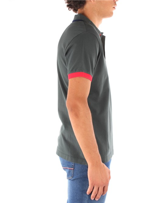 Refrigiwear Clothing Man Short sleeves GREEN PX9031-T20300