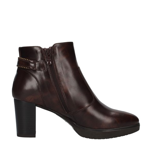 Nero Giardini Shoes Woman boots BROWN I013005D