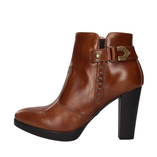 Nero Giardini Shoes Woman boots BROWN I013021D