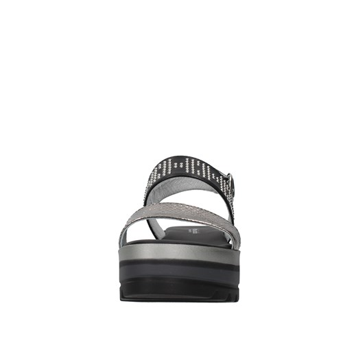 Nero Giardini Shoes Woman With wedge GREY E115750D