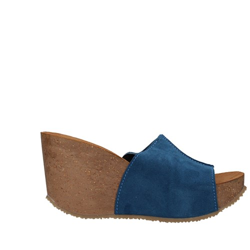 Bionatura Shoes Woman With wedge PETROLEUM 29A735