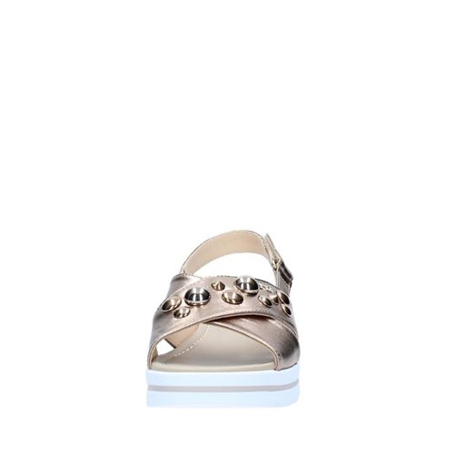Nero Giardini Shoes Woman With wedge GOLD P805861D