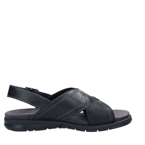 Igi&co Shoes Man Sandals BLACK 1129100