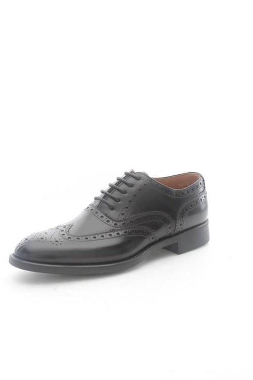 Campanile Shoes Man Laced BLACK T1378