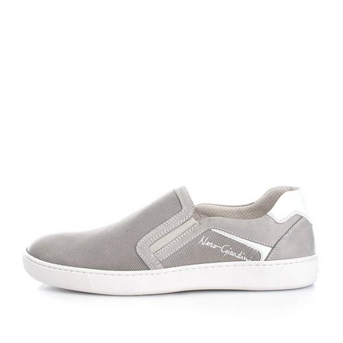 Nero Giardini Shoes Man Loafers GREY P704950U